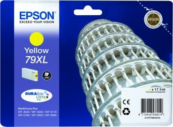 EPSON cartridge T7904 yellow (šikmá věž) XL